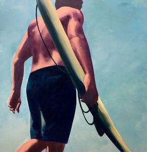 TS Harris, 'Surfer', 2018