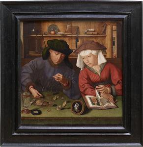 Quentin Metsys (Quinten Massys), 'Le prêteur et sa femme (The Moneylender and His Wife)', 1514