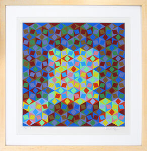 Victor Vasarely, 'Photon', 1988