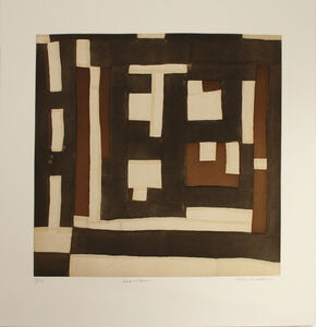 Mary Lee Bendolph (Gee's Bend), 'BLACK AND BROWN', 2005