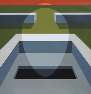 Clarence Holbrook Carter, 'Transection No. 7', 1970