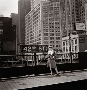 Arnold Eagle, '[New York, 42nd Street, Third Avenue El]', 1936