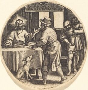 Georg Pencz, 'To Feed the Hungry'