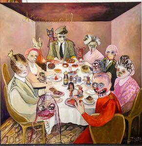 Juliane Hundertmark, 'Abendmahl', 2020