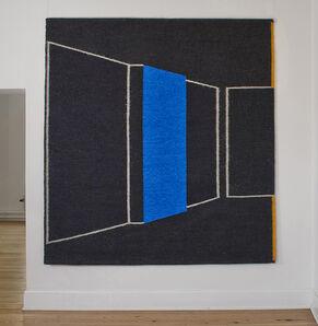 Gudrun Pagter, 'Blue Wall', 2013