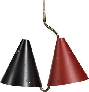 Svend Aage Holm Sørensen, 'Double Pendant Lamp', circa 1955