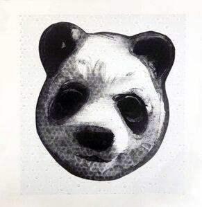 Charming Baker, 'Flocked Panda Head 21', 2018