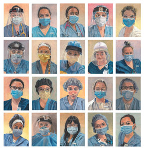 Laurie Simko, 'Thank You Nurses Series', 2020