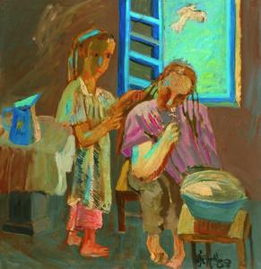 Zhang Yongxu, 'Make Up', 1988