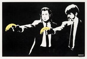 Banksy, 'Pulp Fiction', 2004
