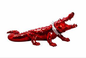 Richard Orlinski, 'Crocodile with Wild Neck Collar '