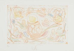 Claes Oldenburg, 'Ice Cream Desserts, (C)', 1976