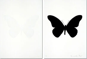 Damien Hirst, 'The Souls IV - Cotton White  + Raven Black (sold as set)', 2010
