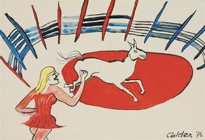 Alexander Calder, 'L'écuyère', 1976