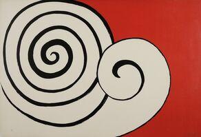 Alexander Calder, 'Deux Spirales', 1974