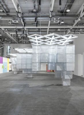 Kukje Gallery at Art Basel Unlimited 2016, installation view