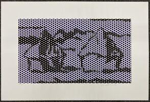 Roy Lichtenstein, 'Haystacks #3', 1969