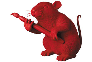 Banksy, 'LOVE RAT (RED)', 2020