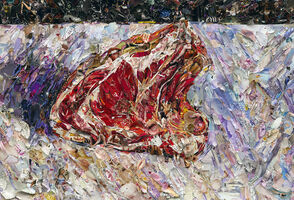 Vik Muniz, 'Pictures of Magazine 2: Rib of Beef, after Gustave Caillebotte', 2012