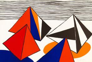 Alexander Calder, 'Les Pyramides Grandes', 1975