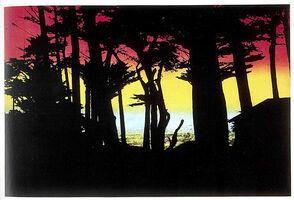 Peter Doig, '100 YEARS AGO, Big Sur', 2000-2001