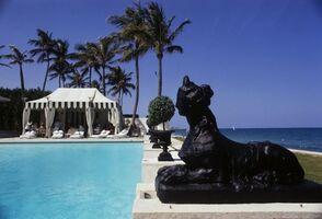 Slim Aarons, 'Poolside Luncheon Palm Beach', 1968