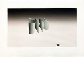 Ed Ruscha, 'Sin with Olive', 1970