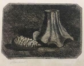 Natura Morta con Pigna e Frammento di Vaso (Still Life with Pine Cone and Fragment of Pot)