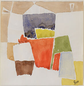 Geer van Velde, 'Composition', 1955