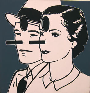 Steve Gianakos, 'Two Bird Brains #2', 1984
