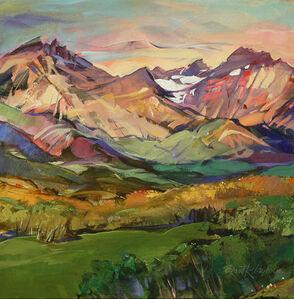 Brent Laycock, 'Cloudy Ridge Morning', 2018