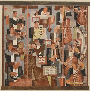 Benton Spruance, 'Mural Study for the Philadelphia Orchestra', 1941