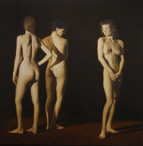 Jeffrey Gold, 'Three Women', 1990