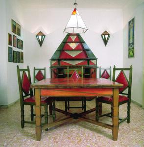 Gerardo Dottori, 'Sala da pranzo di Casa Cimino'