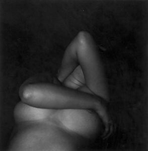 Harry Callahan, 'Eleanor, Chicago (lying down, arms up), ', 1948