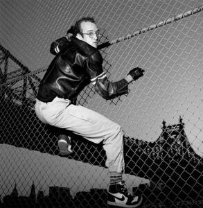 Gianfranco Gorgoni, 'Keith Haring (New York City)', 1985