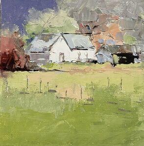 Sandra Pratt, 'Summer Barn (White House)', 2020