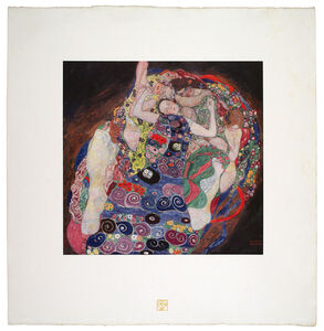 Gustav Klimt, 'The Virgin [Das Werk Gustav Klimts]', 1908-1914