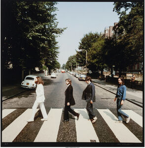 Iain Macmillan, 'Abbey Road (two photographs)', 1969