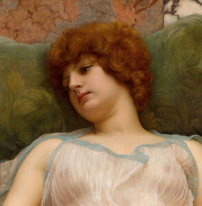 John William Godward, 'Idle Moments', ca. 19