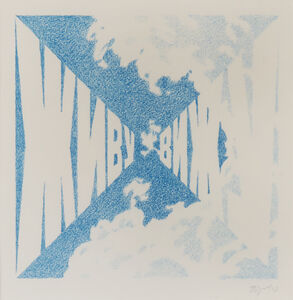 Erik Bulatov, 'I live I see', 1988