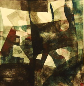 Chu Weibor, 'Jump of The Squares 方的躍動', 1969