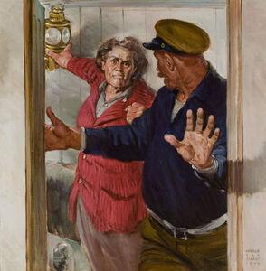 Harold Von Schmidt, '(Untitled)', 1949