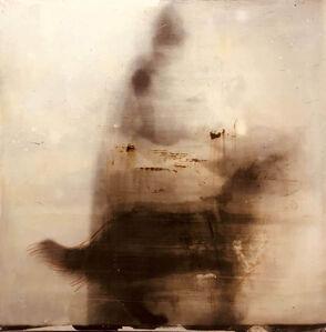 Nikos Kessanlis, 'The artist with his dog', ca. 1960