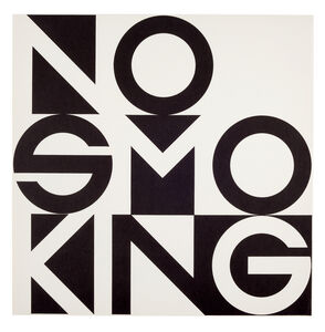 George Brecht, 'No Smoking', ca. 1973