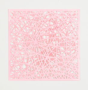 Leigh Suggs, 'Reticulating Lines - Baby Pink', 2020