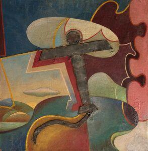Giulio D'Anna, 'Aeropittura + Paesaggio'
