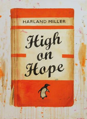 Harland Miller: HIGH ON HOPE, installation view