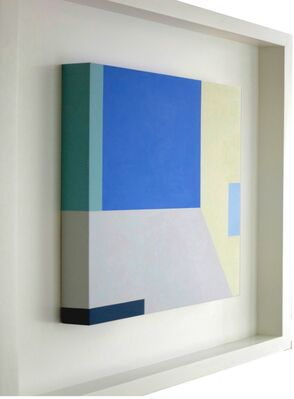 Intervals of colors: painting as musical notes, installation view