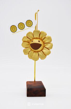 Flower Pin (Gold)